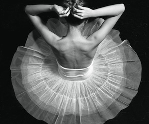 ballet, hairs, and music image
