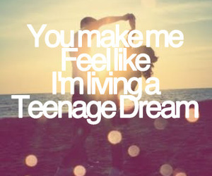 teenage dream, Dream, and katy perry image
