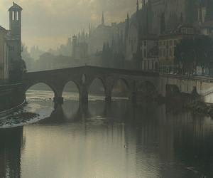 bridge, italy, and verona image
