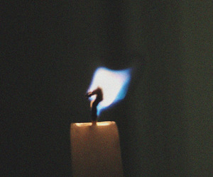 candle and indie image