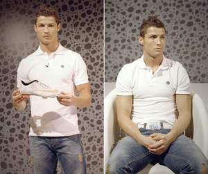 cristiano ronaldo, nike, and safari boots image