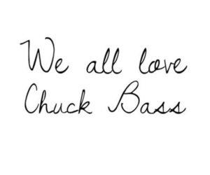 chuck bass, gossip girl, and love image