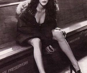 black and white, Hot, and liv tyler image