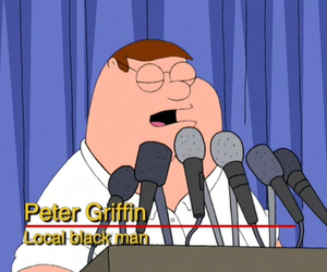 family guy and Peter Griffin image