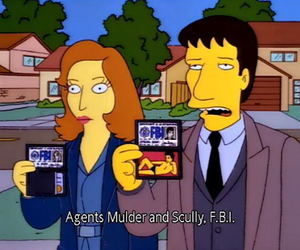 simpsons, the simpsons, and fbi image
