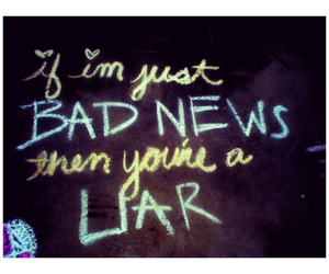 liar, quote, and stars image