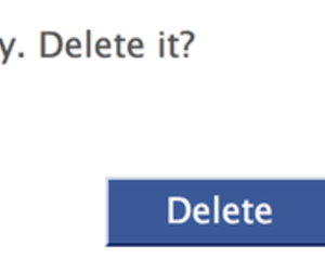 delete, life, and cancel image