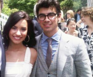 couple, demi lovato, and eyes image