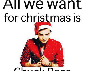chuck bass, christmas, and chuck image
