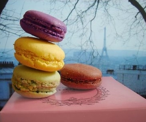 france, french, and macaroons image