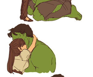 love, Hulk, and couple image