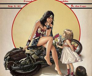 wonder woman and comic image