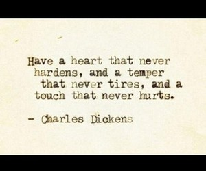 charles dickens, heart, and hurt image