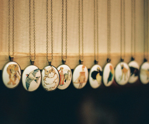 vintage, necklace, and indie image