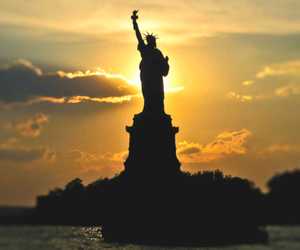 new york, statue of liberty, and amazing image