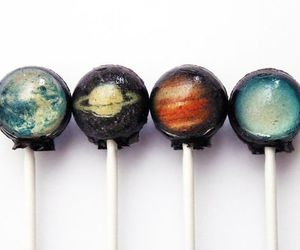 planet, lollipop, and candy image