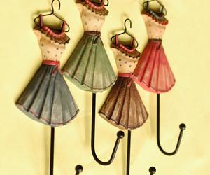 dress, beautiful, and colorful image