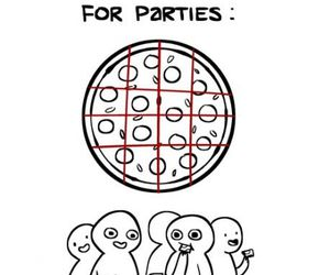 pizza, funny, and party image