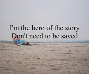 hero, saved, and story image