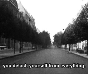 quote, black and white, and detach image