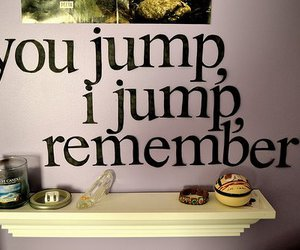 titanic, quote, and jump image