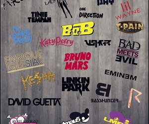 Avril Lavigne, bands, and eminem image