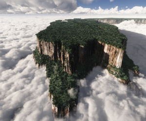 venezuela, clouds, and nature image
