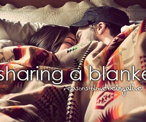 cute, love, and blanket image