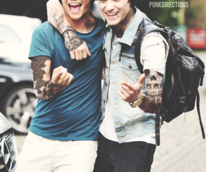 black, boo bear, and louis tomlinson image
