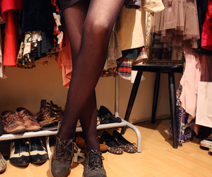 boots, leggings, and fashion image
