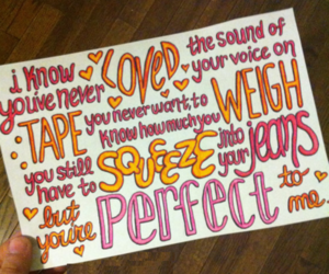 little things, one direction, and Lyrics image