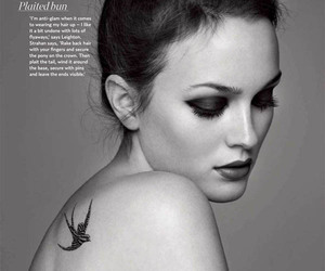 art, fashion, and leighton meester image