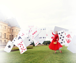 cards, costume, and Couture image