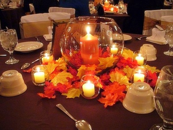 Awesome Fall Wedding Table Decorations Contemporary - Styles & Ideas ...
