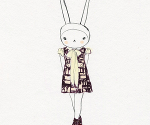 bunny, rabbit, and cute image
