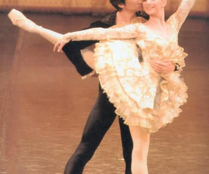 ballet, couple, and girl image