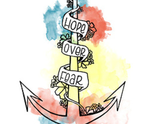 hope, anchor, and fear image