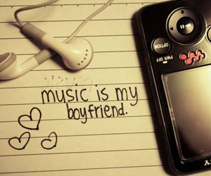 music, boyfriend, and quote image
