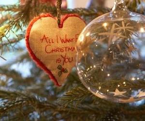 christmas, ornaments, and holidays image