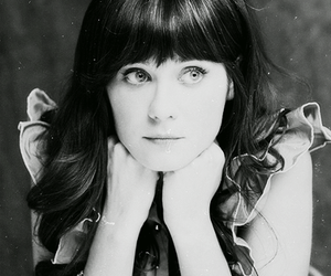 zooey deschanel, pretty, and eyes image