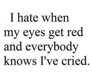cry, quote, and eyes image