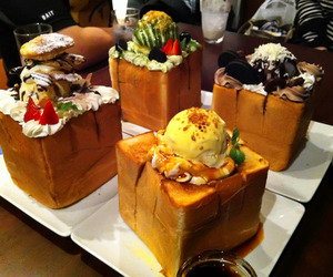 food, ice cream, and japanese food image