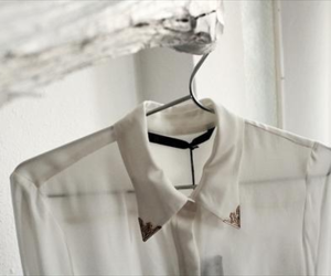 fashion, white, and shirt image