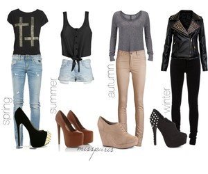boots, Polyvore, and short image