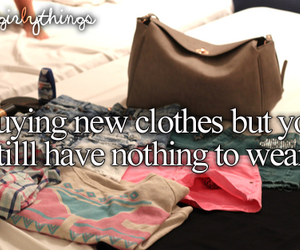 clothes, quote, and just girly things image