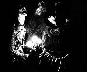 black and white, Black Metal, and light image