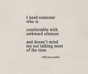 quotes, silence, and someone image