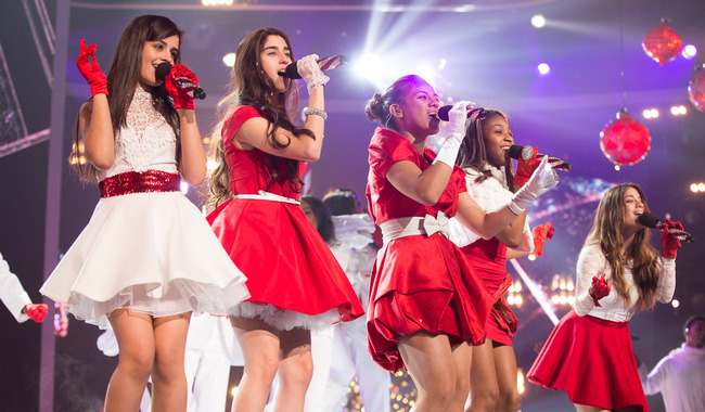 Fifth Harmony Christmas.The Finale Night 2 Rehearsals On We Heart It