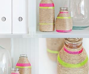 bottle, crafts, and diy image