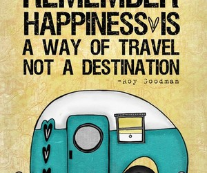 happiness, quotes, and travel image